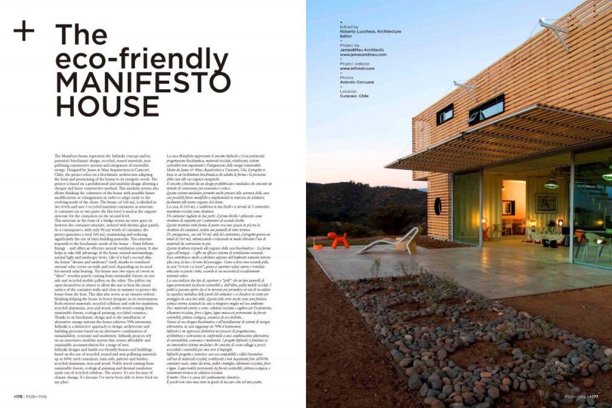 POSI+TIVE Magazine Infiniski Manfesto House Australia