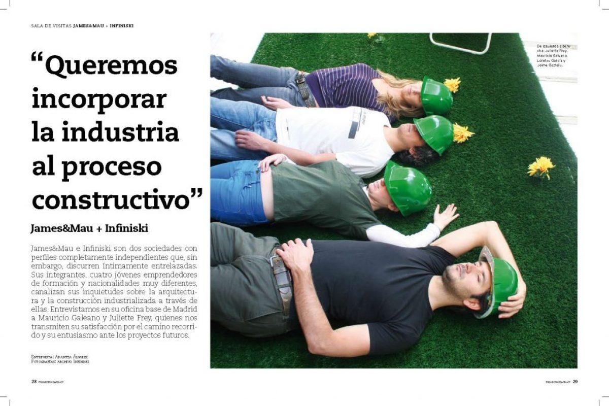 Contract Project España Infinski+James&Mau