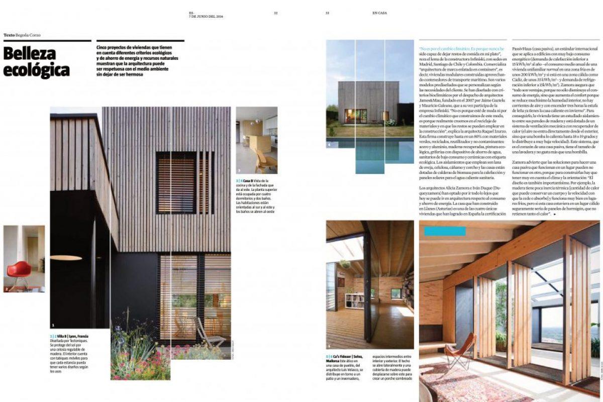 La Vanguardia Magazine Tarifa House
