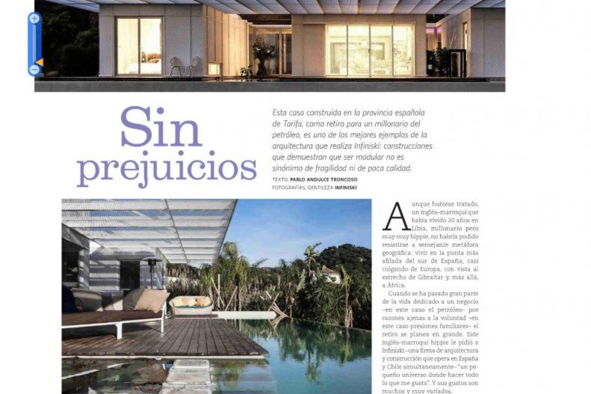 Vivienda y Decoracion Chile Tarifa House