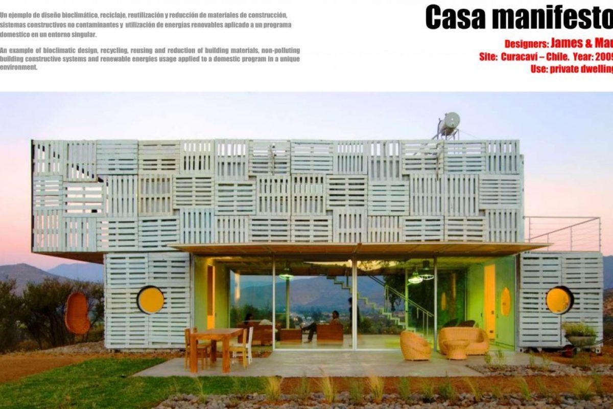 Buho Arquitectos Casa Manifesto