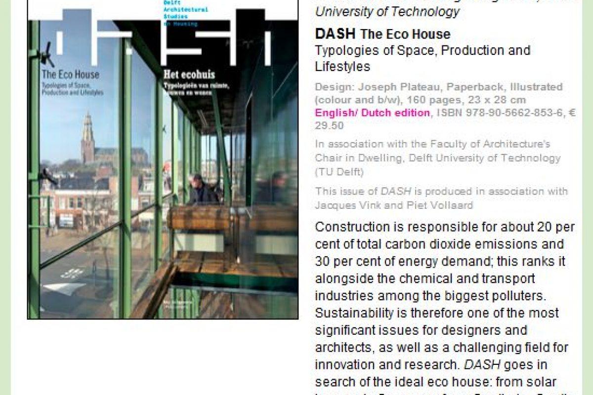 Revista Dash Deft Architectur on Housing