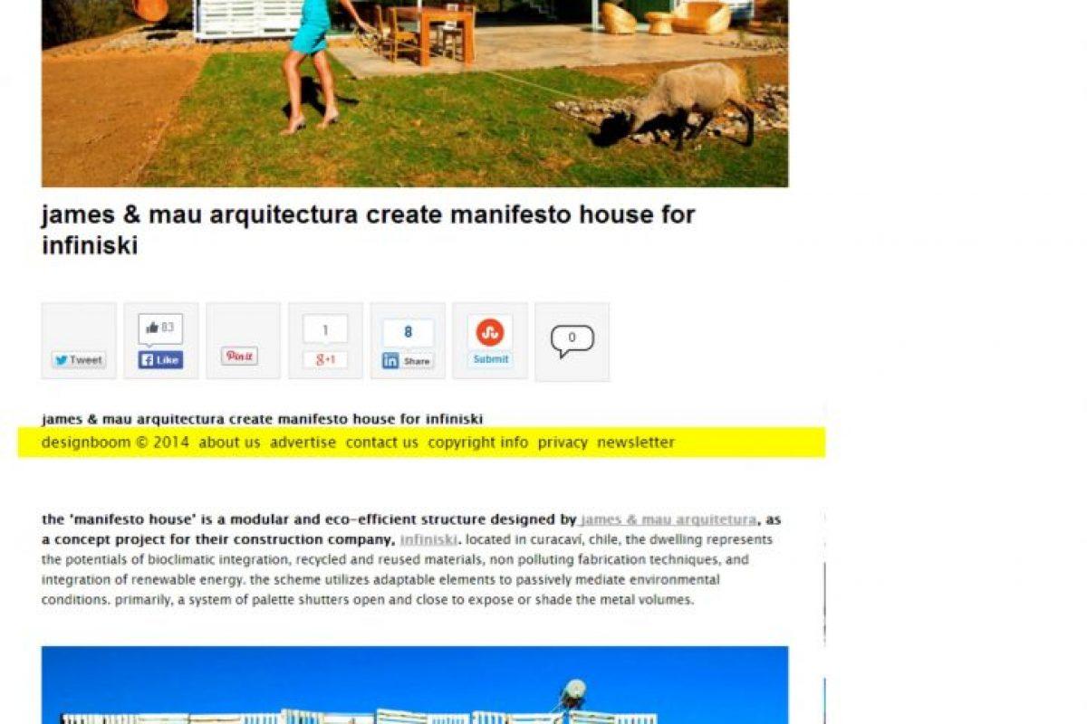 Designboom Manifiesto house